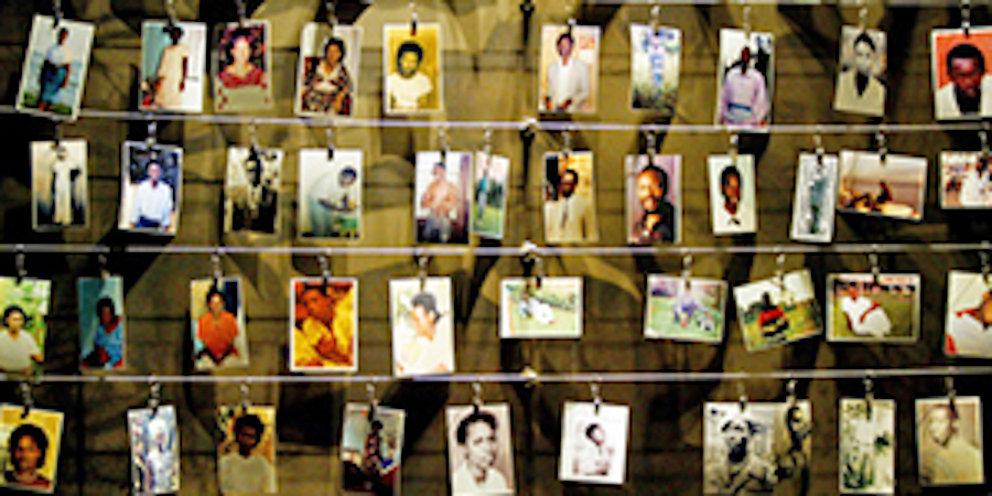 RWANDAN GENOCIDE 20TH ANNIVERSARY
