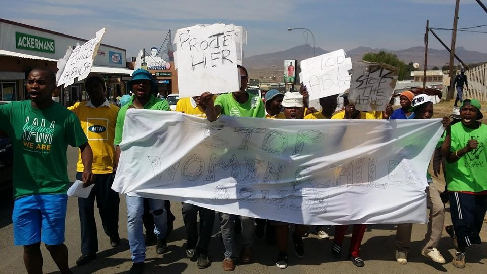 STOPPING VIOLENT CRIMES AGAINST WOMEN: DUMA'S MARCH