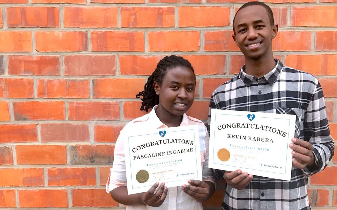 THE TECH DREAMERS OF RWANDA: KEVIN AND PASCALINE'S INTERNSHIP STORY