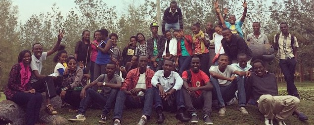 WELCOME OUR NEW STUDENTS IN RWANDA!