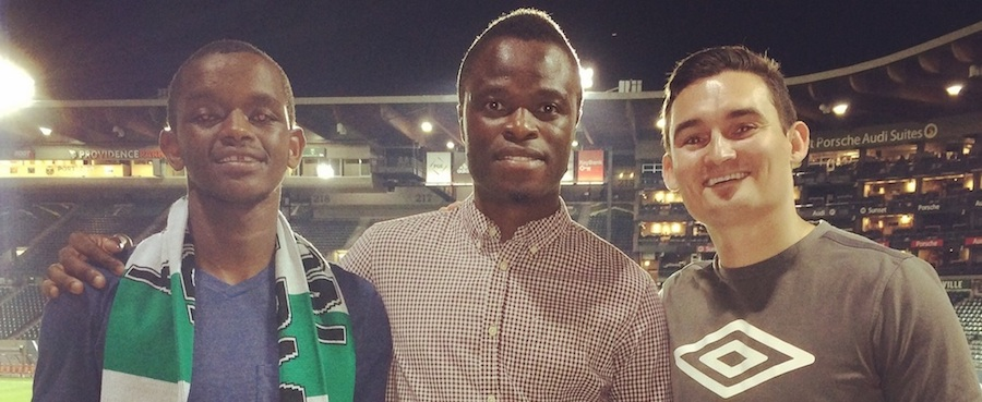 HOW SOCCER UNITED THE CONGO AND PORTLAND